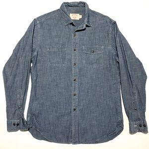 Brooks Brothers Mens M Slim Fit Long Sleeve Shirt